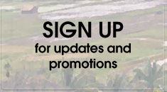 Sign Up for updates and promotions